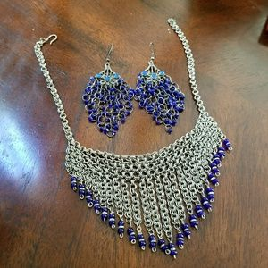 Jewelry - ☪ EID SALE! Tribal Metal and Bead Necklace